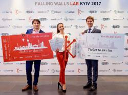 Проекти українських винахідників, які перемогли на Falling Walls Lab Kyiv – 2017