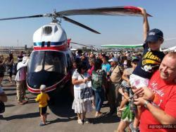 Перший український вертоліт для сільськогосподарських потреб